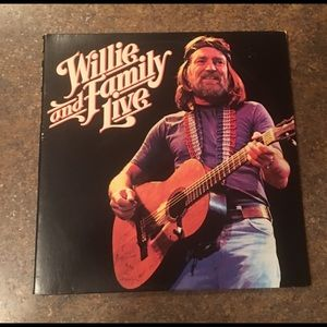 Other - Willie and Family Live Vinyl LP Album